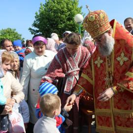 Высокопреосвященнейший Архиепископ Брестский и Кобринский Иоанн совершил Божественную литургию в храме преподобного Симеона Столпника в городе Каменец.