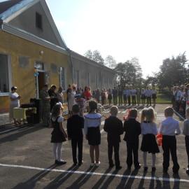 Торжественная  линейка посвященная  началу учебного года.