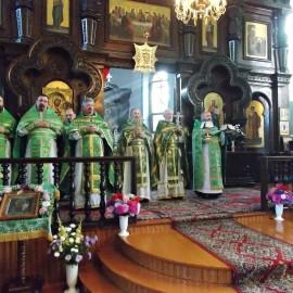 Престольный праздник в Симеоновском храме г. Каменец.