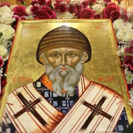 Святителю отче Спиридоне,моли Бога о нас!