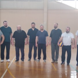 Благочиннический турнир по волейболу.