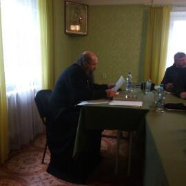 Собрание духовенства Каменецкого благочиния.