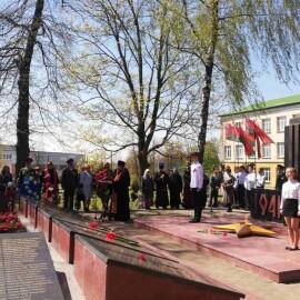 Благодарственный молебен Господу Богу за дарование Победы в Великой Отечественной войне.