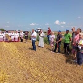 Священник принял участие в мероприятии «Зажинки 2021 г».