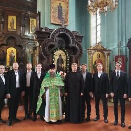Престольный праздник храма преподобного Симеона Столпника молитвенно отметили в городе Каменец.